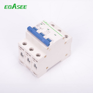CE Approval Electrical C60 MCB CIRCUIT BREAKERS 3p ac mcb ice 898 mcb For overload Protection