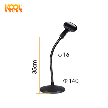 Ms31b Professional Gooseneck Microphone Stand Table Mic Stand