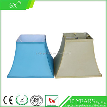 Solar wire frames bamboo lining fabric square bell house table solar wire frames bamboo lining fabric square bell house table lamp shade greentooth Gallery