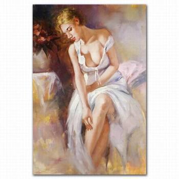 Gemälde von sexy Frauen