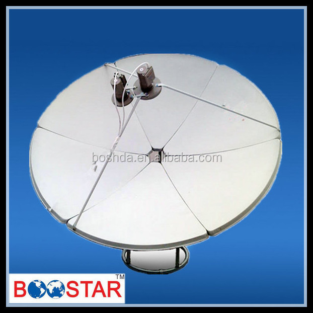 strong signal C-band 180cm satellite tv dish antennas