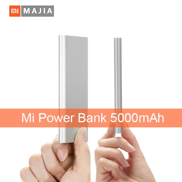 Hot Sale <strong>Electronics</strong> portable phone charger battery 5000mah mi power bank
