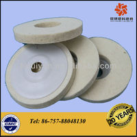 100% Pure Wool Glass Edge Polishing Wheel
