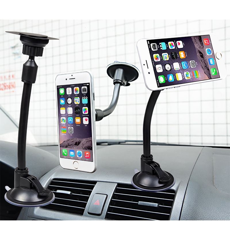 59268fc022e10f Long Gooseneck Magnetic Universal Car Mobile Phone Holder Stand Mount for iphone  6s lenovo Gps Smartphone