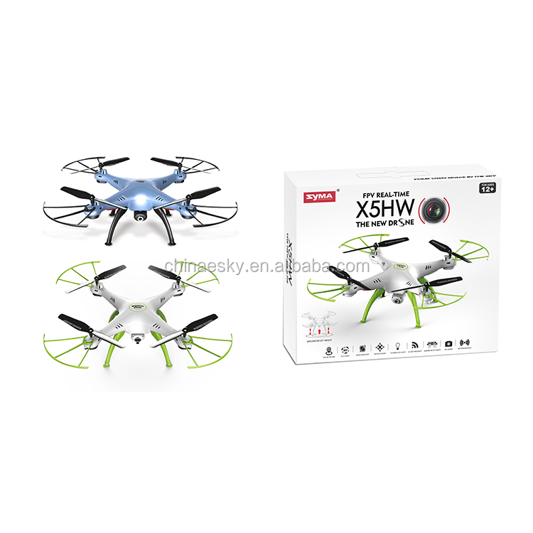 In stock Syma X5HW FPV RC Quadcopter Drone with 2.4G 6-axis VS Upgrade RC Helicopter WIFI 0.3mp Camera drone