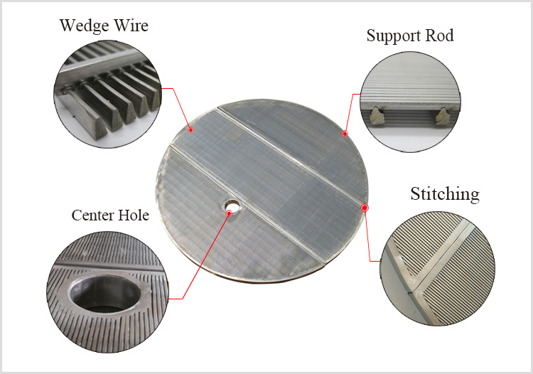 Stainless Steel Wedge Wire Lauter Tun Screen False Bottom