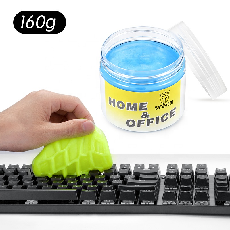 Sticky Schoon Gom Magie Stofafscheider Zachte Slijm Lijm Gel printer laptop PC computer Toetsenbord auto dashboard Cleaner Dust Sticky