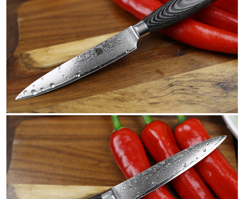 "HTB17U4Cg46I8KJjSszfq6yZVXXaC - 5""inch Utility Knife 67 Layers Japanese Damascus Steel Kitchen Knife Sharp"