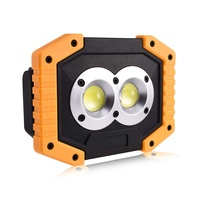 Super Bright Emergency Waterproof 18650 Battery USB Portable Rechargeable LED COB Work Light