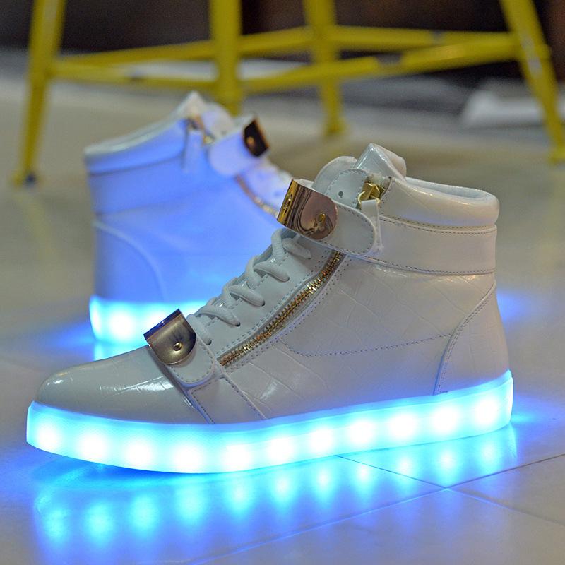 Led Light High Shoes,Seven Colors Light