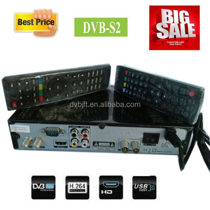 Latest dvb-s2 set top box satellite receiver all card for middle east