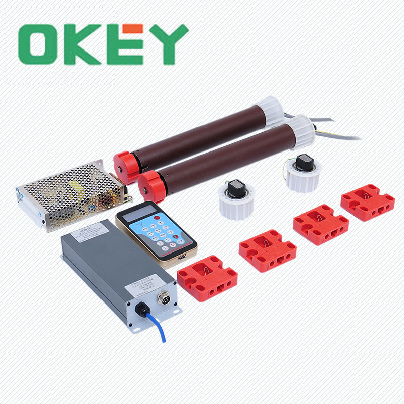 Factory Outlet light box material JQ-6020 ultra-quiet light box rolling system outdoor brushless digital scrolling system