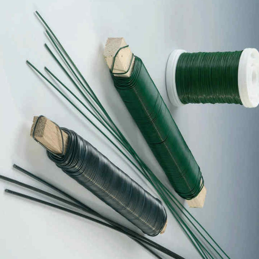 Good Quality Pvc Coated Florist Wire Copper Coated Iron Wire