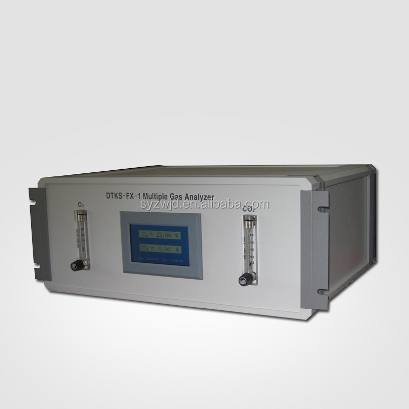 DTKS-FX-1 multiple-gas analyzer (CO analysis, CO2 analysis and O2 analysis)