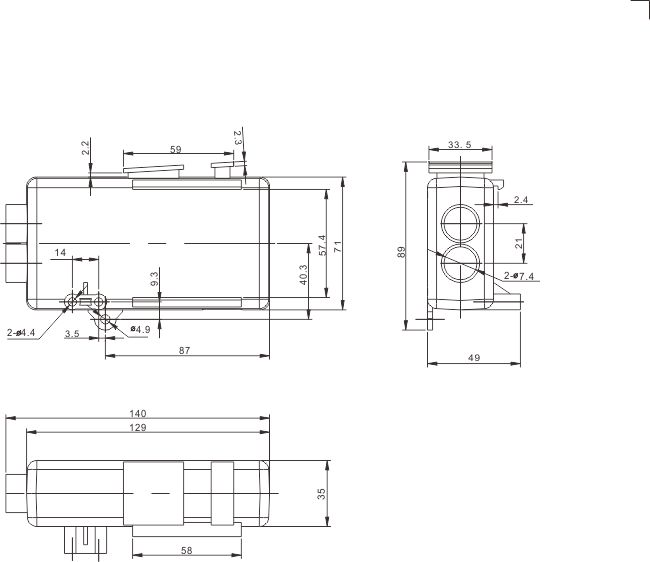 Electric Linear Actuator Remote Control Box Handset For 1~2 Liner Actuators