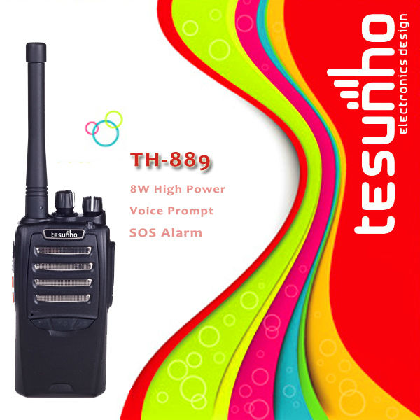 TESUNHO TH-889 powerful commercial police wireless uhf best long range professional frs black box two way radio