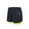 China Supplier under wear design running shorts with zipper pockets