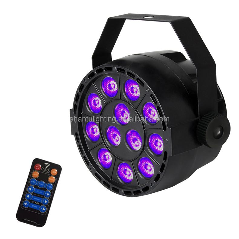 Baisun Brand Led Par Light Uv Flat Par Can Light Dmx512 Master Slave Auto Sound Control Remote Uv Par Light Buy Led Par Light Led Flat Par Light Uv