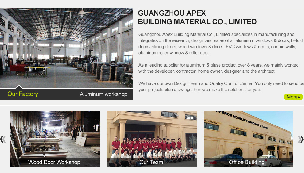 glass and aluminum company profile