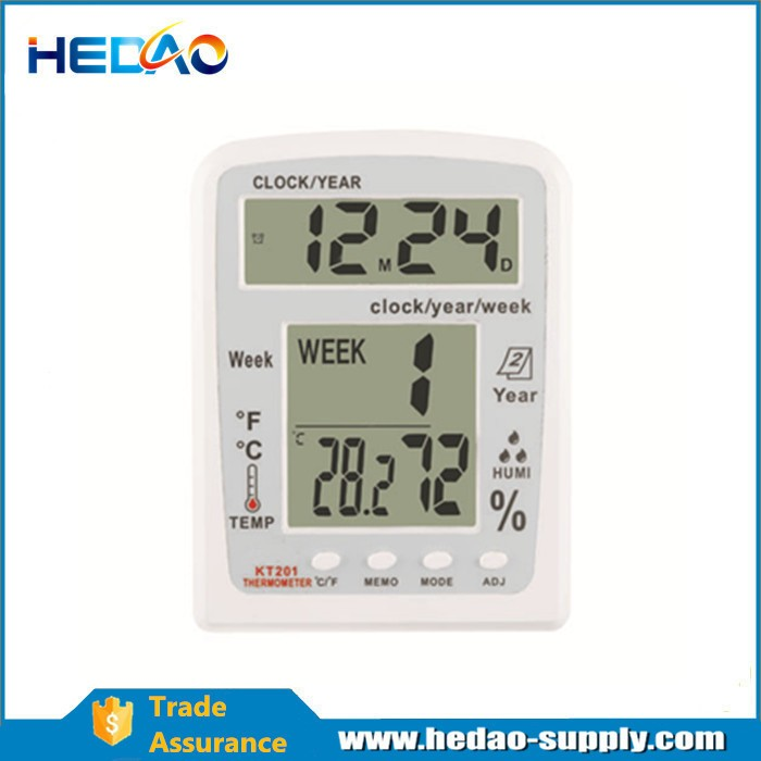 Digital Thermo-hygrometer Temperature and Humidity Gauge - KingCare | KingCare.net