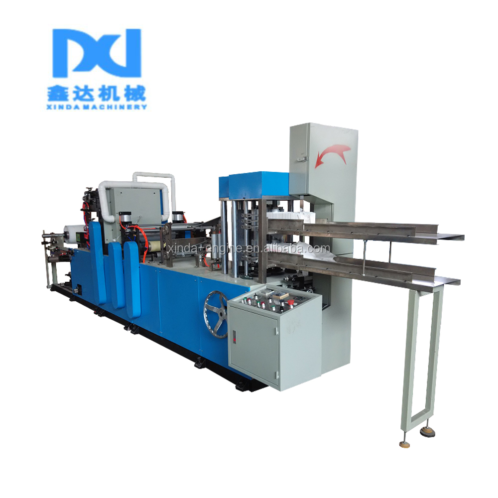 hot Automatic pillow single paper tissue napkin fork spoon wet wipe flow packing machine