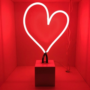 HEART STYLE neon with neon desk lamp custom neon sign/light letters china