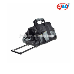 High quality hot selling multifunction electrician trolley tool bag with wheel
