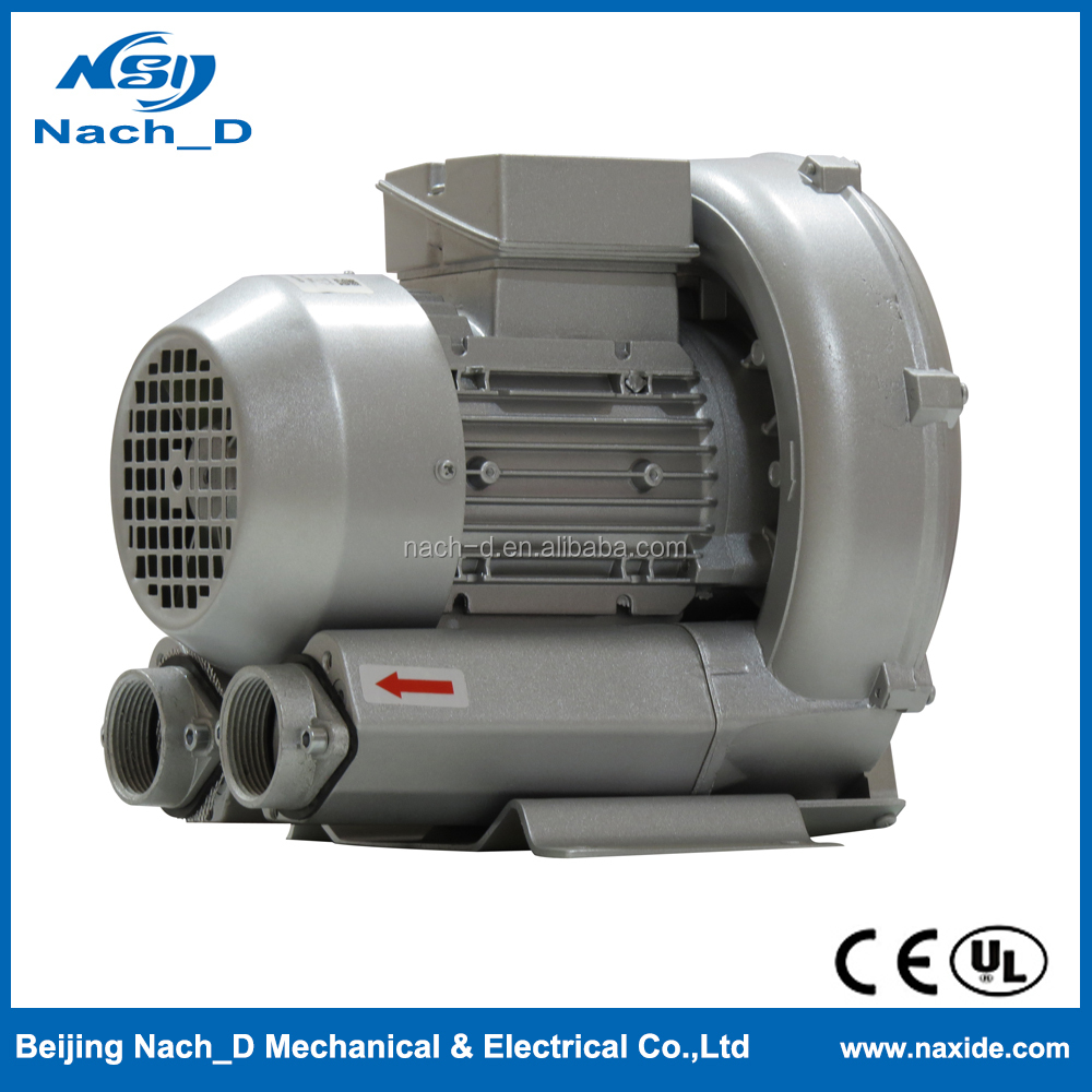 High quality Screen Process Press Side Channel Vacuum Pump Ring Blower