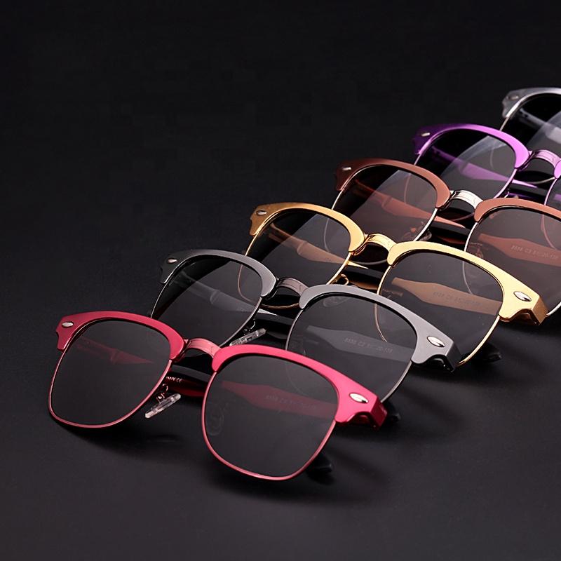 アルミメッキカスタムイタリアデザインのファッションサングラス