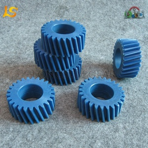 MC901 Nylon Material and Helical Tooth Small Module Gears