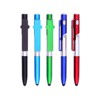 4 in 1 touch screen phone holder ball pen stylus multifunctional LED light touch pen for children gifts
