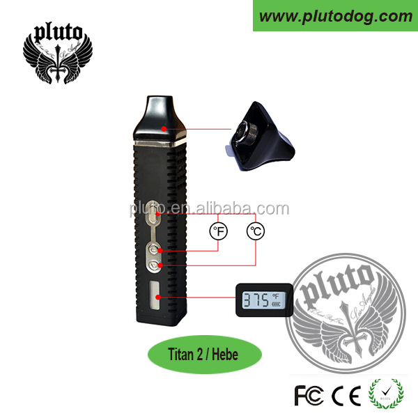Patent hebe titan 2 vape pen ceramic heating element vaporizer 2200mah fast heating CE ROHS approved