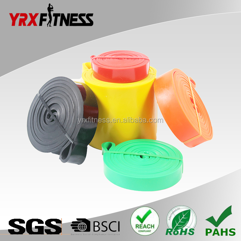 Crossfit pull up latex super bands