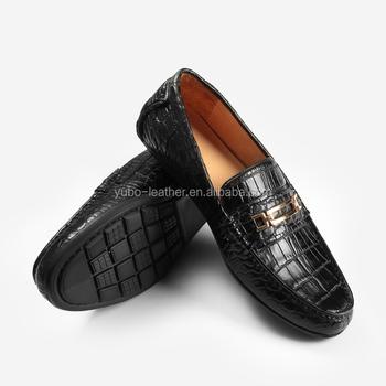 82b64108e9860 Luxury Genuine Crocodile Leather Men Shoes Crocodile Loafers - Buy ...
