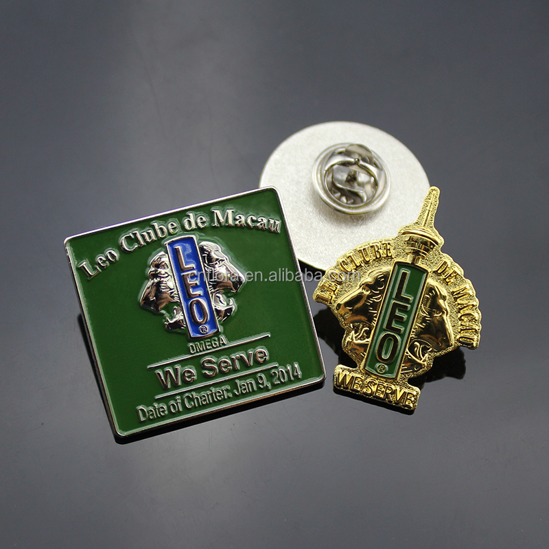 Factory sale high quality low price 3D metal badge & pin badge & button badge