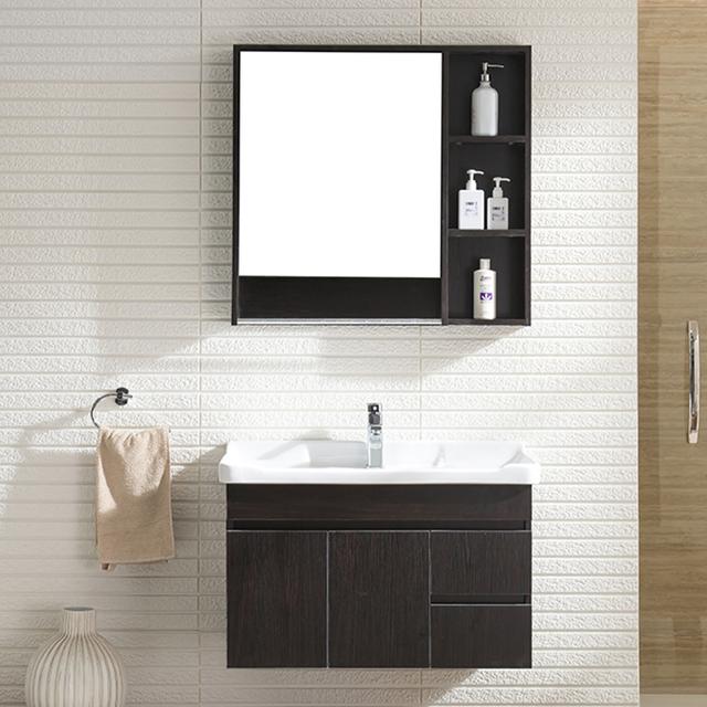 Sanitary Ware Modern Bathroom Plywood Cabinet Hotel Vanity