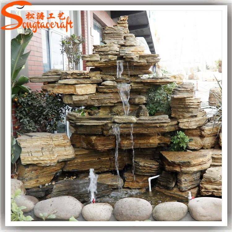 Nouveau produit 2015 fontaine en marbre de l 39 eau vente for Cascadas de piedra para jardin