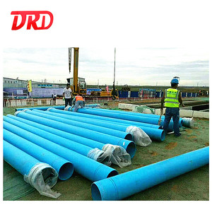 China Manufactory Supply High Pressure Plastic PVC Pipe 110mm 160mm For Potable Water