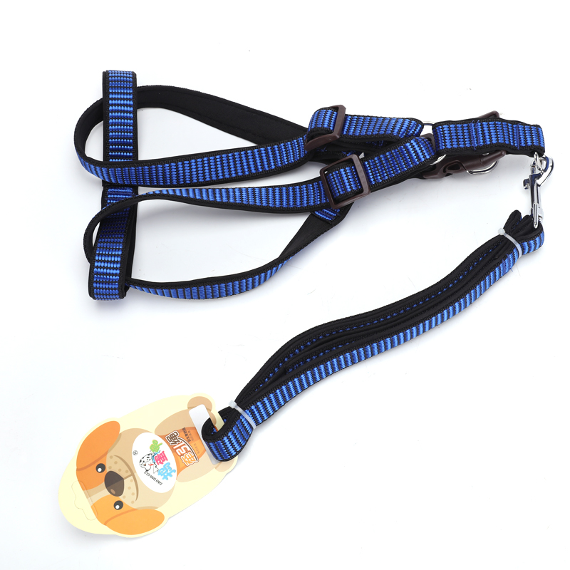 มือสัตว์เลี้ยงน่ารักสุนัข Leash Premium Running ไนลอนสะท้อนแสงสุนัขที่นั่งเข็มขัด Padding โฟมจับ