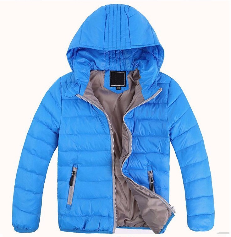 Retail New 2015 Children outerwear boys&girls Winter Thick warm Solid fashion coats&jackets,Kids Korean Down Parkas 7 colors