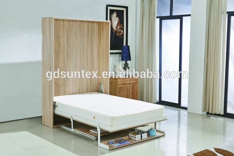 New Vertical Wall Bed Desk Pull Down Murphy Product On Alibaba