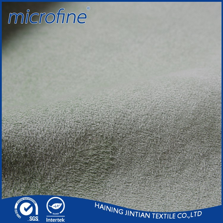 China textile micro suede fabric manufacturers fashion cloth fabric suede