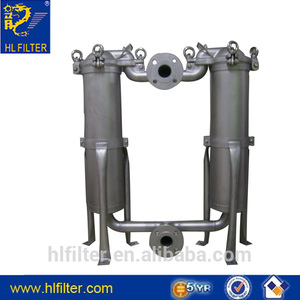 Fabric filter bag ceramic candle filter housing for water treatment
