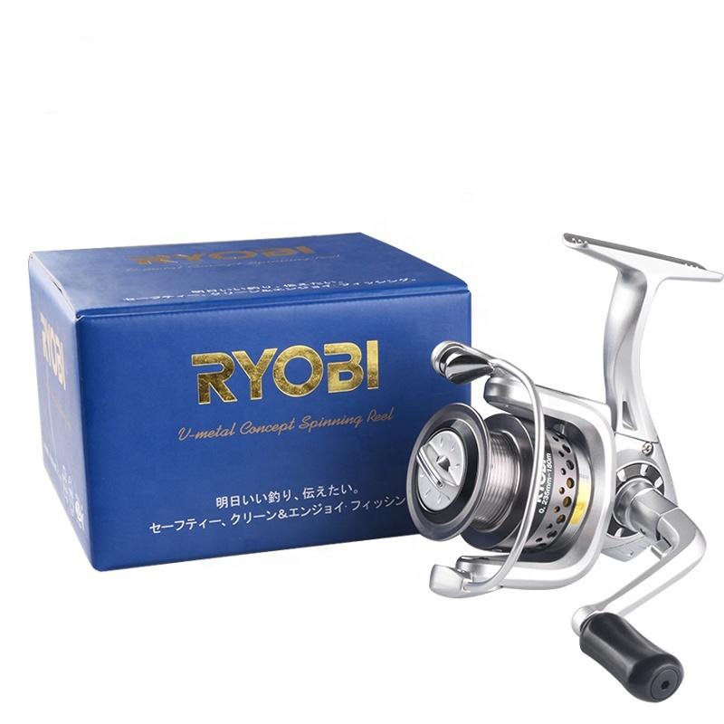 RYOBI Pilot Navigator 1000 2500 4500 5000 6000 Full V-Metal Concept Spinning reel Ryobi fishing reels
