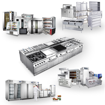 Commercial Central Gas Cooking Range Catering Kitchen Equipment ...