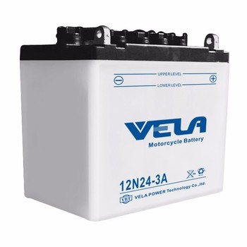dry batteries for motorcycles 12 v 24ah 12N24-3A