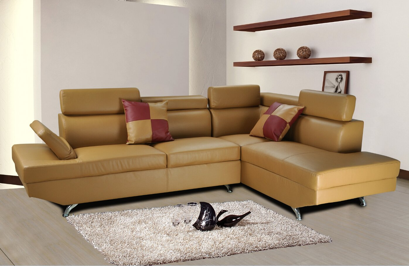 sofa larger view click furniture room dimension zoom with tables over to living media image leather zuri center beverly grey mouse light or