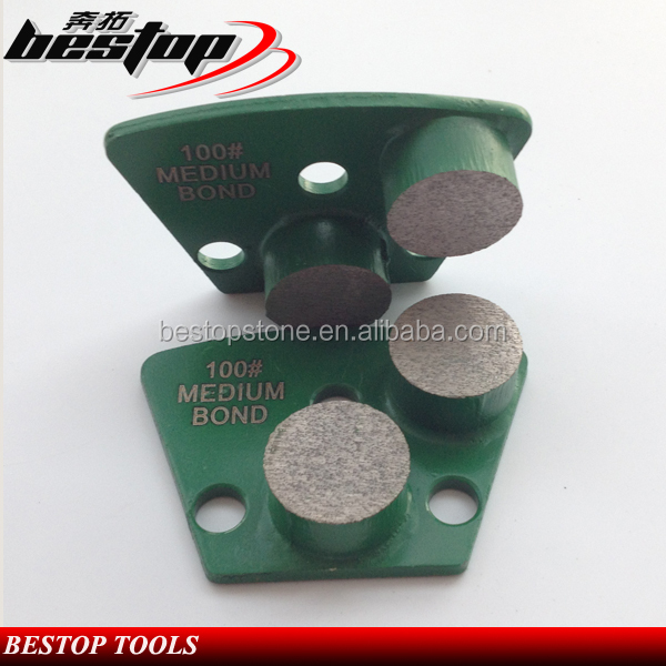 Fan-shaped Granite Grinding Plate Abrasive Tool for Floor Renovation