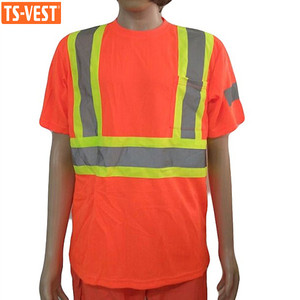 Cheap Promotional Reflective Safety T Shirts