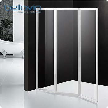 Acrylic Glass Plastic Folding Bathtub Shower Door 6593 - Buy Folding ...